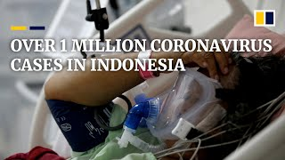 Indonesia's Coronavirus Cases Surpass 1 Million As Country Continues Mass Covid-19 Vaccinations