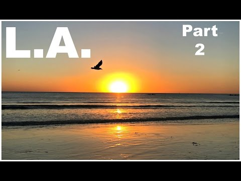 Los Angeles - Part Two | The Grove | Santa Monica Pier | Meeting Jessica's Brother