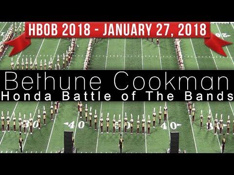 Bethune Cookman Marching Band BCU - 2018 Honda Battle of the Bands  HBOB BOTB