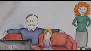 Seks historier om vold i familien