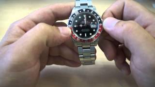 Rolex GMT Master 2 16710, 16713 How To Set Dual Time Zone BY GOLDWATCHCO