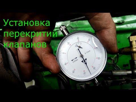 Установка перекрытия клапанов 2112 Настройка распредвалов Valve overlap setting on 16V turbo engine