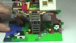 Lego Creator Treehouse Set 31010 Review (2013)