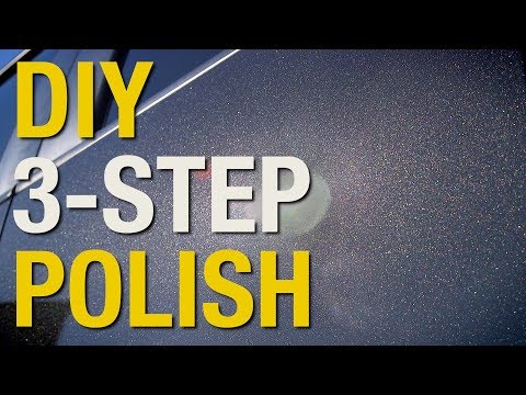 Car Detailing: How To Remove Scratches & Polish A Car Using 3M Perfect-It 3 Step System - Eastwood