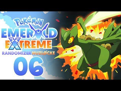A TERRIBLE DEATH!! WHY?!   Pokemon Emerald EXTREME Randomizer Nuzlocke Part 6