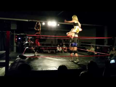 CWAI Stubborn Angel Shawna Reed and Mark Magnum vs. Cody Hawk and Hayley Shadows 11/3/17