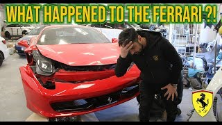 WHO WOULD DO THIS TO A FERRARI ?!?
