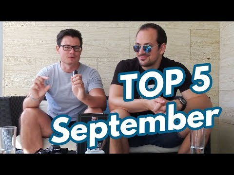 Kollegahs Neues Buch / Neue Kamera / MMA uvm. TOP 5 September feat. Basti Kunkel