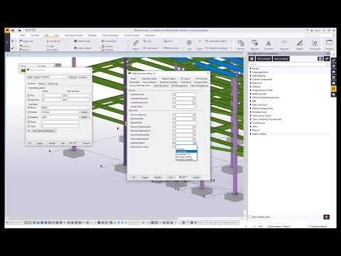 Recording Macros in Tekla Structures