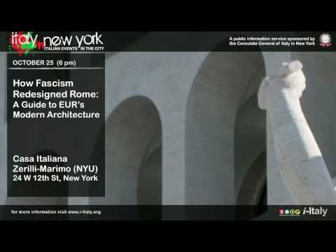 Italy In New York. How Fascism Redesigned Rome