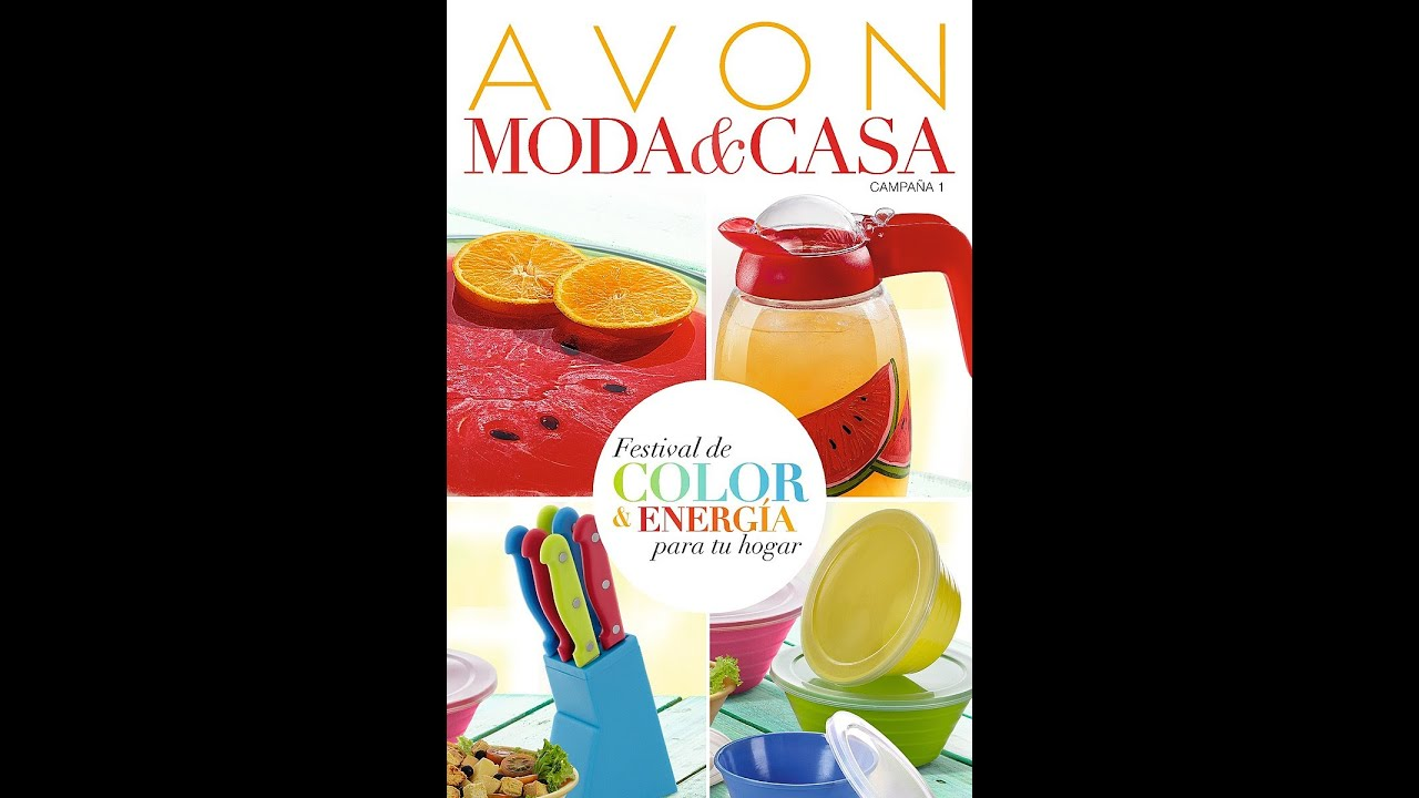 Catalogo avon campa a 01 moda y casa enero 2015 youtube for Catalogo casa