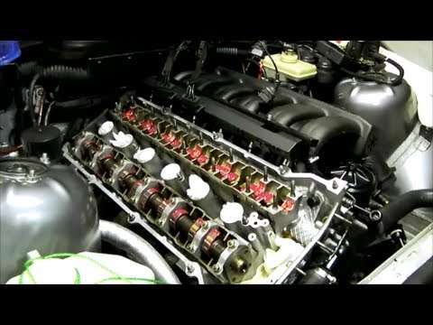 BMW E36 E34 camshaft  lifter removal and installation - YouTube