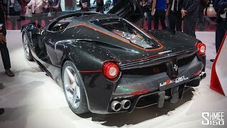 FIRST LOOK: Ferrari LaFerrari Aperta - GTC4lusso T - 70th Anniversary