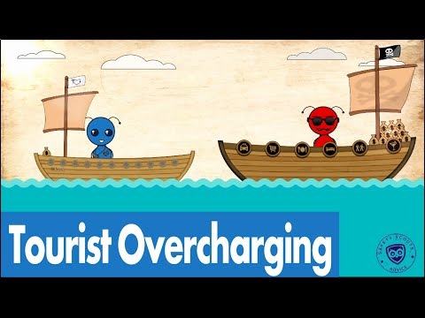 Tourist Overcharging - Safety Scouts Advice - Episode 45 [HD, 4K, En, Es, Fr, Ru, Cn, He]