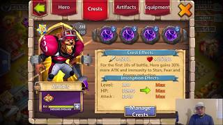 Castle Clash GW COOL IRON WILL Info Discovered towards the END XD