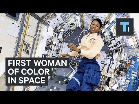 First woman of color in space