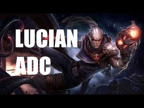League of Legends - Lucian ADC - Full Game With Friends