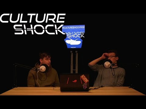 Let's Get Roight in to the NEWS! - Culture Shock Podcast Episode 4