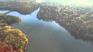 Grand étang de la Jemaye Dordogne mi novembre 2015