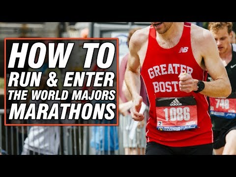 How to Run & Enter the World Majors Marathons