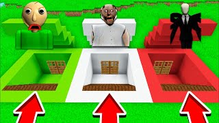 DO NOT CHOOSE THE WRONG SECRET BASE IN MINECRAFT!