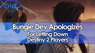 Bungie Dev Apologizes for Letting Destiny 2 Players Down