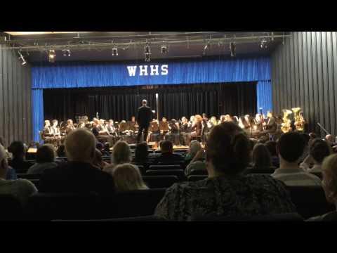 West Henderson High School Band Spring Concert 2017 Part 1