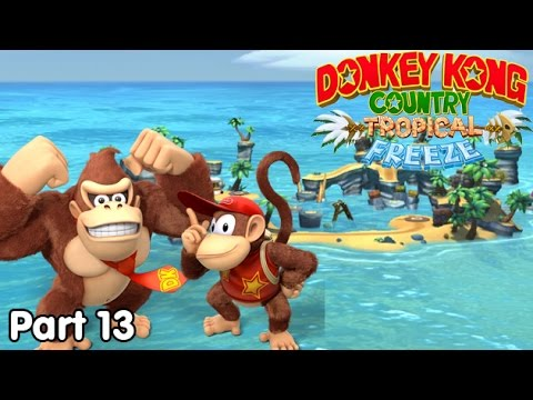 Slim Plays DKC: Tropical Freeze - #13. The Angry Deep