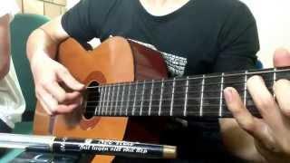 KCB Mưa tuyết guitar cover