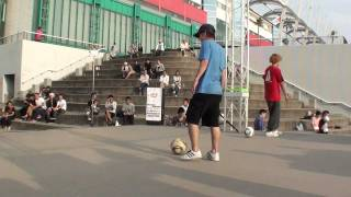 HIRO-K vs YOSSHI - Freestyle Football WFSLeague Japan Final TOP 4