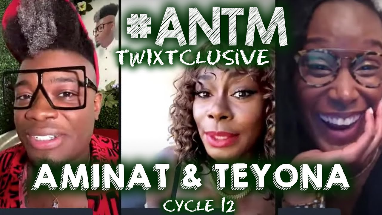 Download #ANTM Live Q&A! Teyona & Aminat Spill on Cycle 12 of Top Model