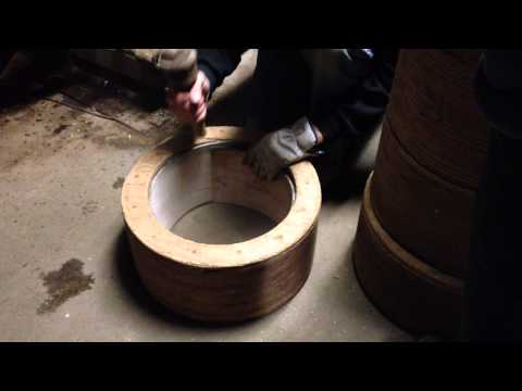 The Steambending Shell Process at the Noble & Cooley Factory