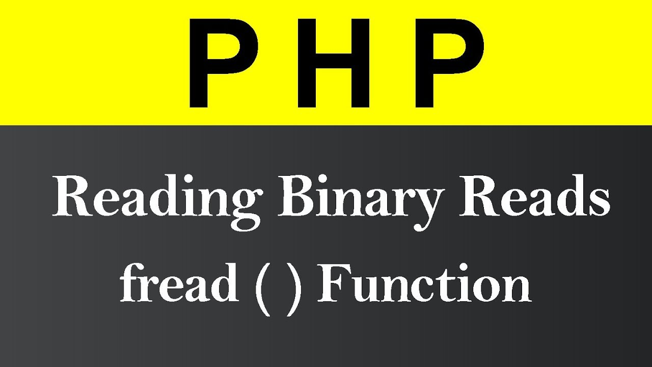 Reading Binary Reads in PHP (Hindi)