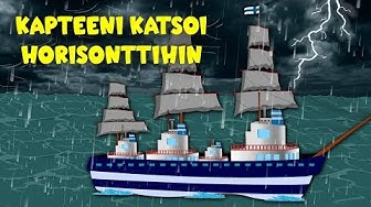 Kapteeni katsoi horisonttihin - Suomen lastenlauluja