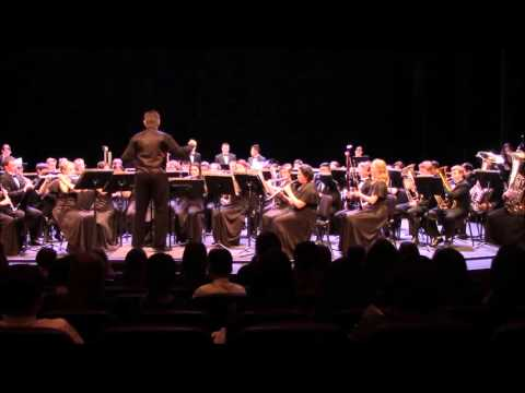 Casa Grande High School Festival Concert Band Performs at the Heritage Music Festival