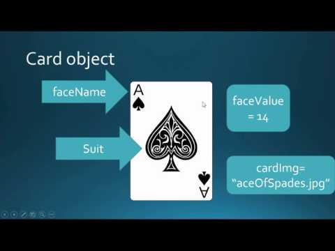 Creating a card Object