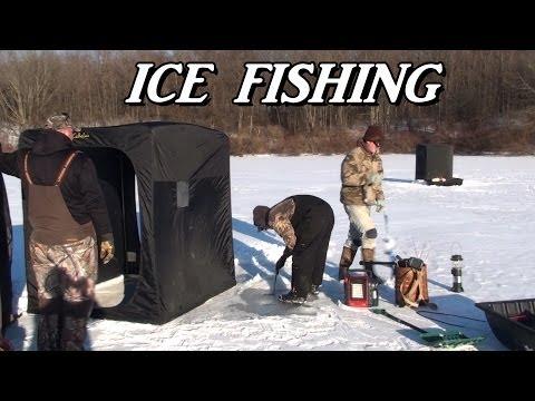 ICE FISHING 2014 Wilhelm & Kahle Lake
