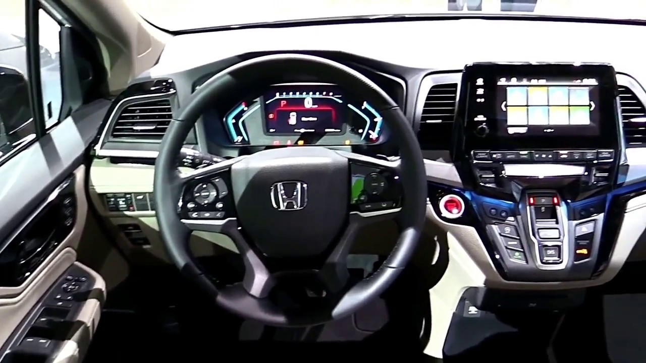 2018 honda odyssey elite exterior and interior first impression look in 4k youtube 2018 honda odyssey touring elite interior