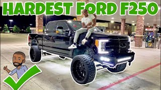 Blacked out 2018 F-250 Platinum !