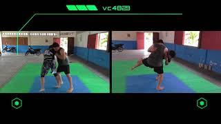Como tumbar a tu oponente - pase de guardia y golpeo - técnica de proyección