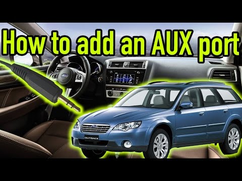 How to add an auxiliary port to any car | Ep.81