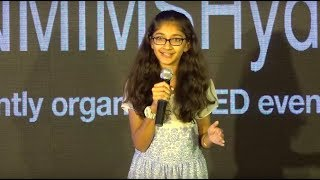 Experiences of a 12 year old author   Ishita Katyal   TEDxNMIMSHyderabad