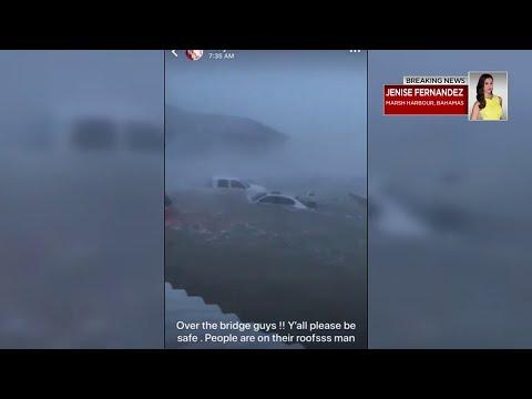 Marsh Harbour destroyed after Hurricane Dorian passes through