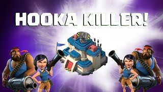 DEFEND AGAINST HOOKA! Boom Beach | DEFENSE BASE