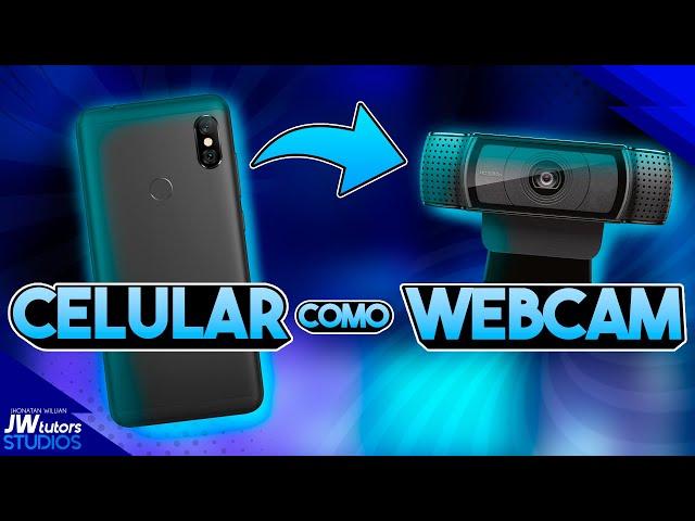 Como usar seu Celular como Webcam pelo WiFi e cabo USB (sem lag)