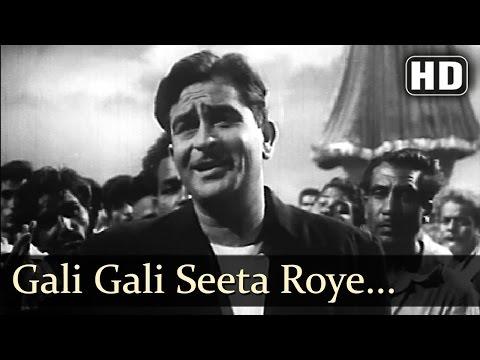 Gali Gali Sita Roye - Raj Kapoor - Nutan - Chhalia - Mohd Rafi - Evergreen Hindi Songs