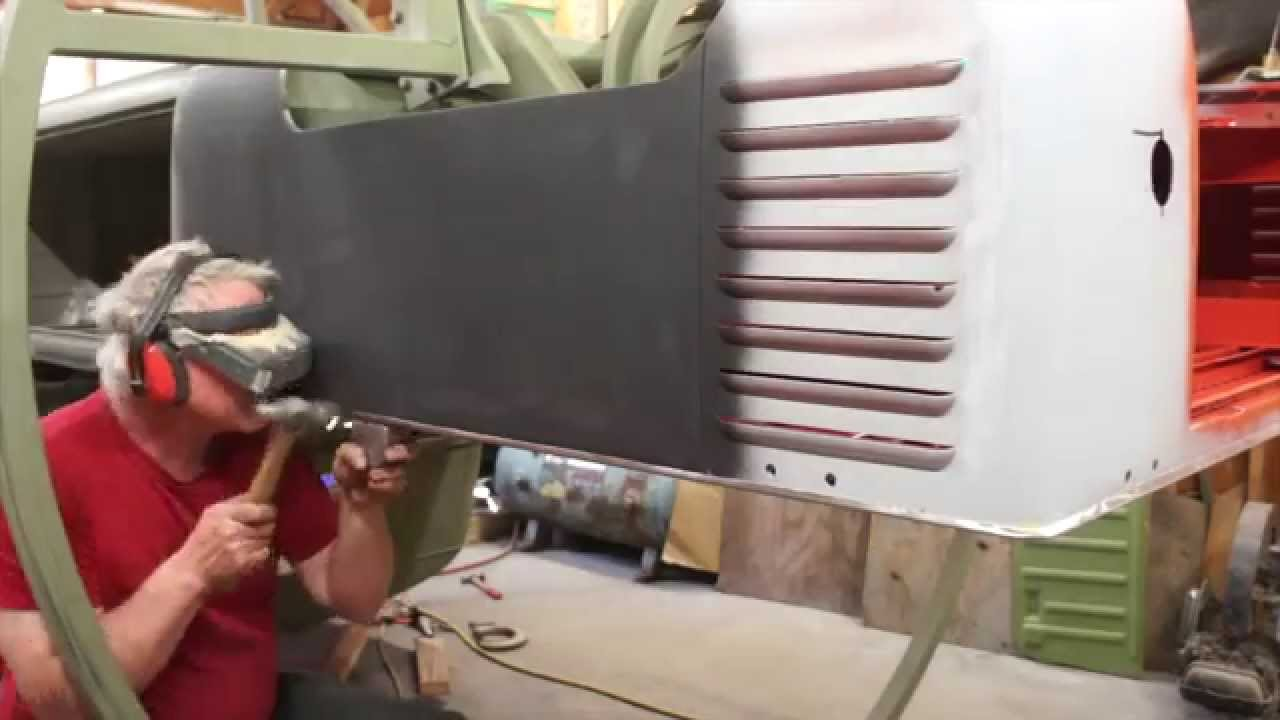Vw Bus Single Cab Weld On New Load Bed Youtube