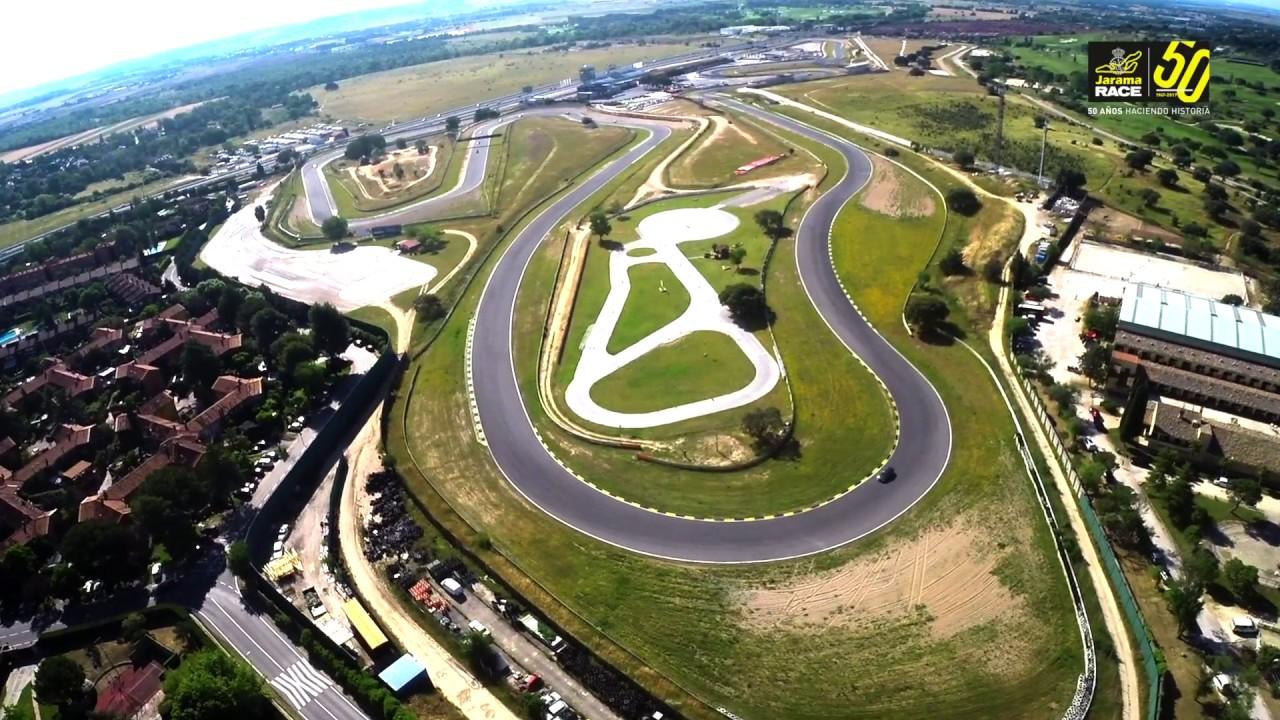 Circuito Jarama : Nueva curva maría de villota en el circuito del jarama race