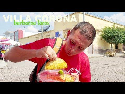 Villa Corona Jalisco   Mexico travel destination   Taco stands 2018