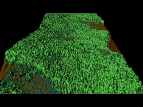 LiDAR Survey Demonstration - Remove the Forest to Reveal the Bare Earth